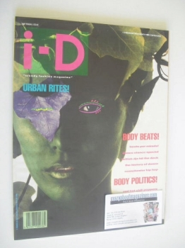 i-D magazine - Silvia Ross cover (March 1988)