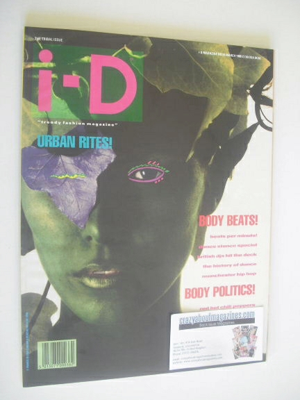 <!--1988-03-->i-D magazine - Silvia Ross cover (March 1988)