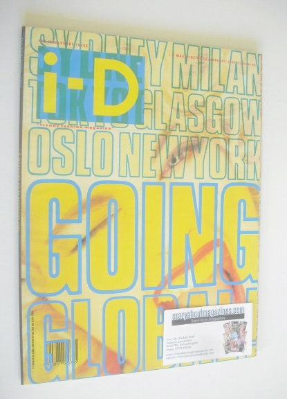 <!--1988-02-->i-D magazine - Going Global cover (February 1988)