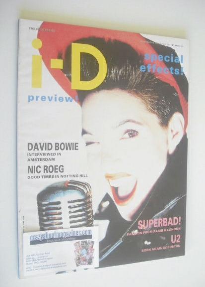 <!--1987-07-->i-D magazine - Elizabeth Westwood cover (July 1987)