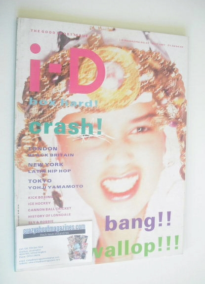 <!--1987-05-->i-D magazine - Tess cover (May 1987)
