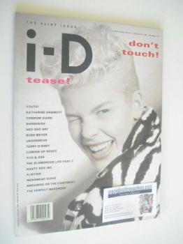 i-D magazine - Paula Thomas cover (February 1987)