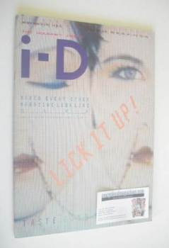 i-D magazine - Lick It Up cover (February 1985 - No 22)