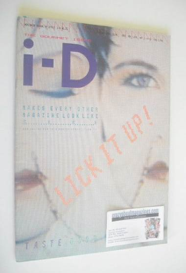 <!--1985-02-->i-D magazine - Lick It Up cover (February 1985)