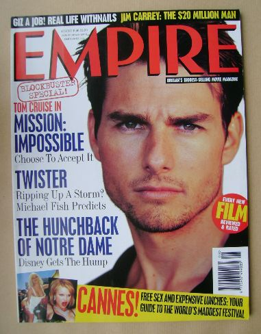 <!--1996-08-->Empire magazine - Tom Cruise cover (August 1996 - Issue 86)