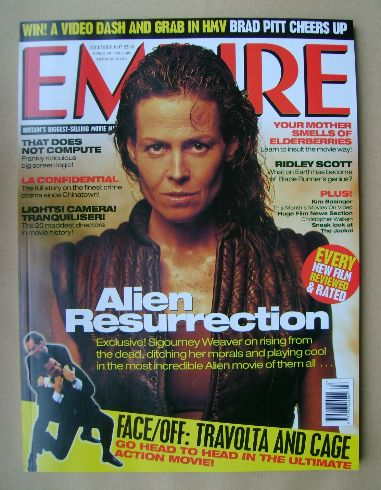 <!--1997-12-->Empire magazine - Sigourney Weaver cover (December 1997 - Iss
