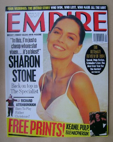 <!--1995-01-->Empire magazine - Sharon Stone cover (January 1995 - Issue 67