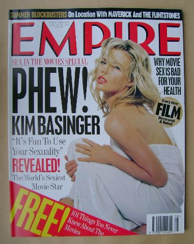 <!--1994-08-->Empire magazine - Kim Basinger cover (August 1994 - Issue 62)