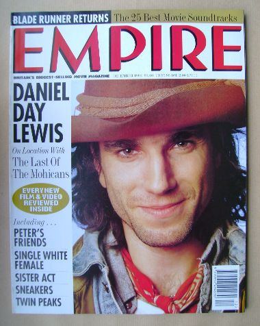<!--1992-12-->Empire magazine - Daniel Day Lewis cover (December 1992 - Iss