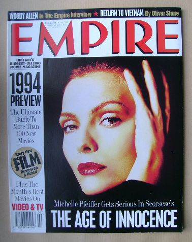 <!--1994-02-->Empire magazine - Michelle Pfeiffer cover (February 1994 - Is