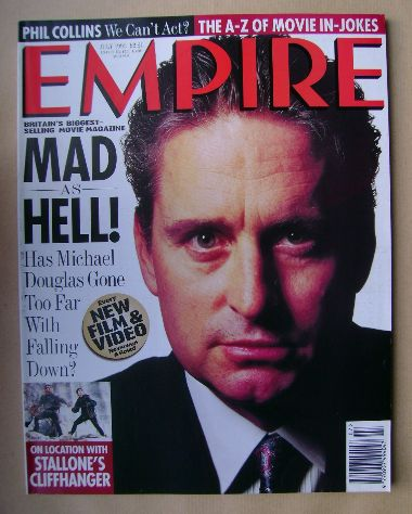 <!--1993-07-->Empire magazine - Michael Douglas cover (July 1993 - Issue 49