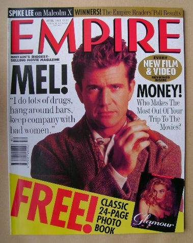 <!--1993-04-->Empire magazine - Mel Gibson cover (April 1993 - Issue 46)