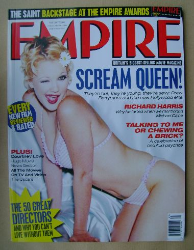 <!--1997-05-->Empire magazine - Drew Barrymore cover (May 1997 - Issue 95)
