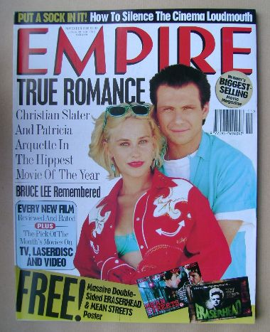 <!--1993-11-->Empire magazine - Christian Slater and Patricia Arquette cove