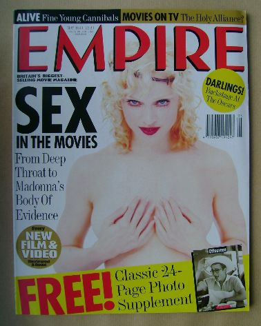 <!--1993-05-->Empire magazine - Madonna cover (May 1993 - Issue 47)