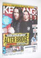 <!--2011-05-14-->Kerrang magazine - Alter Bridge cover (14 May 2011 - Issue 1363)