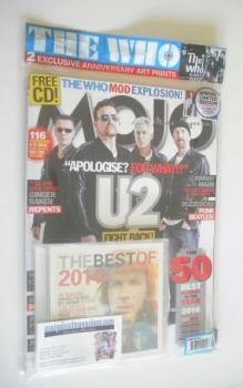 MOJO magazine - U2 cover (January 2015 - Limited Edition)