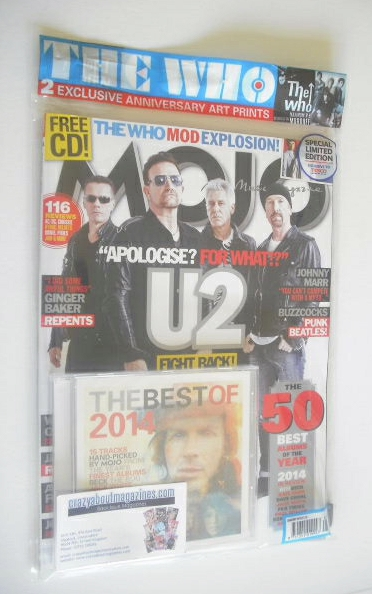 <!--2015-01-->MOJO magazine - U2 cover (January 2015 - Limited Edition)