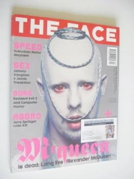 The Face magazine - Alexander McQueen cover (April 1998 - Volume 3 No. 15)