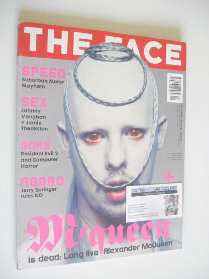<!--1998-04-->The Face magazine - Alexander McQueen cover (April 1998 - Vol