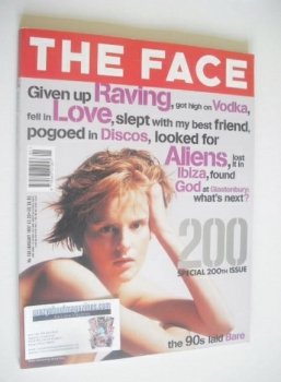 The Face magazine - Stella Tennant cover (January 1997 - Volume 2 No. 100)