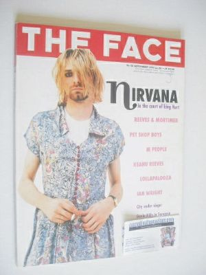 <!--1993-09-->The Face magazine - Kurt Cobain cover (September 1993 - Volum