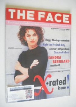 The Face magazine - Sandra Bernhard cover (September 1992 - Volume 2 No. 48)