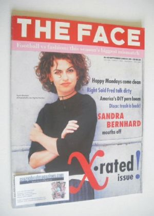 <!--1992-09-->The Face magazine - Sandra Bernhard cover (September 1992 - V