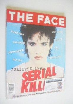 The Face magazine - Juliette Lewis cover (April 1994 - Volume 2 No. 67)