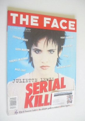 <!--1994-04-->The Face magazine - Juliette Lewis cover (April 1994 - Volume