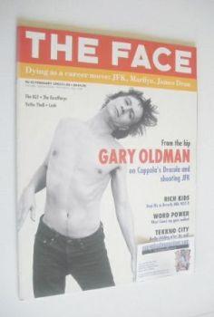 The Face magazine - Gary Oldman cover (February 1992 - Volume 2 No. 41)