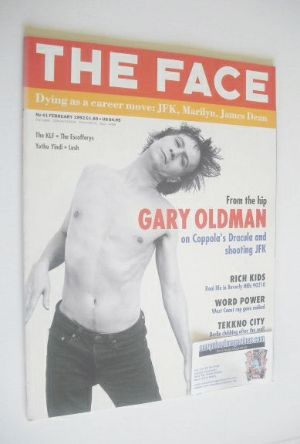 <!--1992-02-->The Face magazine - Gary Oldman cover (February 1992 - Volume