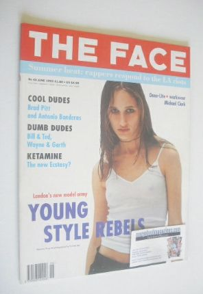 <!--1992-06-->The Face magazine - Rosemary Ferguson cover (June 1992 - Volu