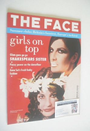 <!--1992-07-->The Face magazine - Shakespears Sister cover (July 1992 - Vol
