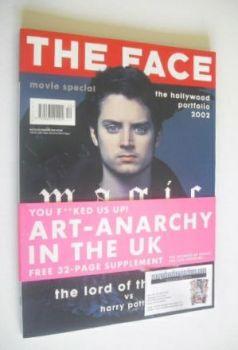 The Face magazine - Elijah Wood cover (December 2001 - Volume 3 No. 59)