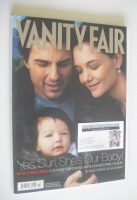 <!--2006-10-->Vanity Fair magazine - Tom Cruise and Katie Holmes and Suri cover (October 2006)