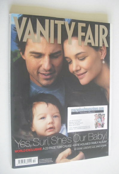 <!--2006-10-->Vanity Fair magazine - Tom Cruise and Katie Holmes and Suri c