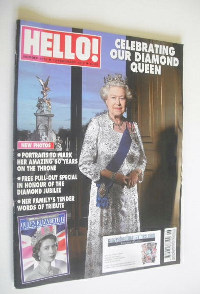 <!--2012-02-13-->Hello! magazine - Queen Elizabeth II cover (13 February 20