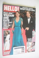 <!--2012-05-21-->Hello! magazine - Prince William and Kate Middleton cover (21 May 2012 - Issue 1226)