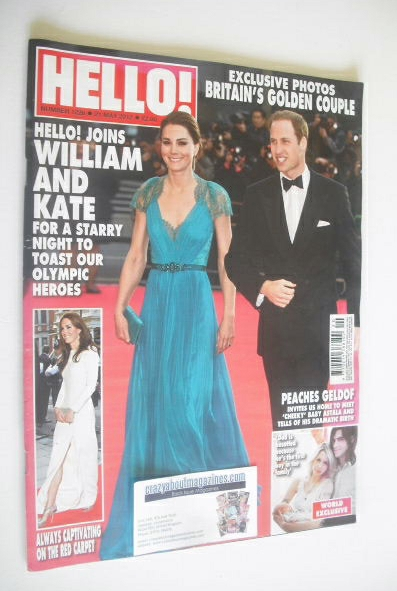 <!--2012-05-21-->Hello! magazine - Prince William and Kate Middleton cover