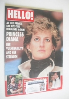 <!--1995-08-19-->Hello! magazine - Princess Diana cover (19 August 1995 - Issue 369)