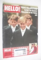 <!--1995-09-16-->Hello! magazine - Prince William at Eton cover (16 September 1995 - Issue 373)