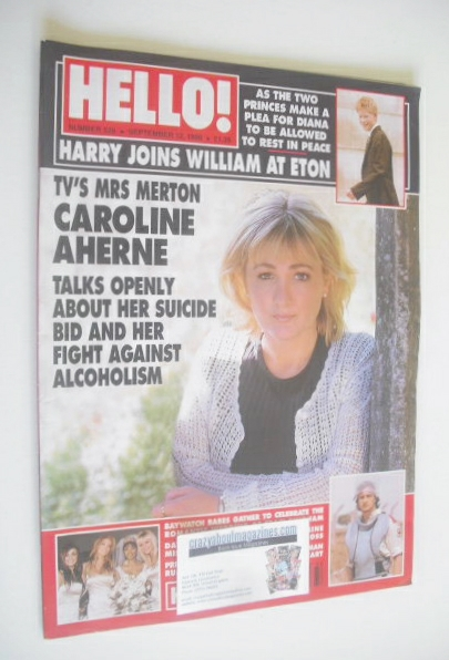 <!--1998-09-12-->Hello! magazine - Caroline Aherne cover (12 September 1998