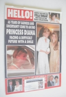 <!--1996-07-20-->Hello! magazine - Princess Diana and Jemima Khan cover (20 July 1996 - Issue 416)