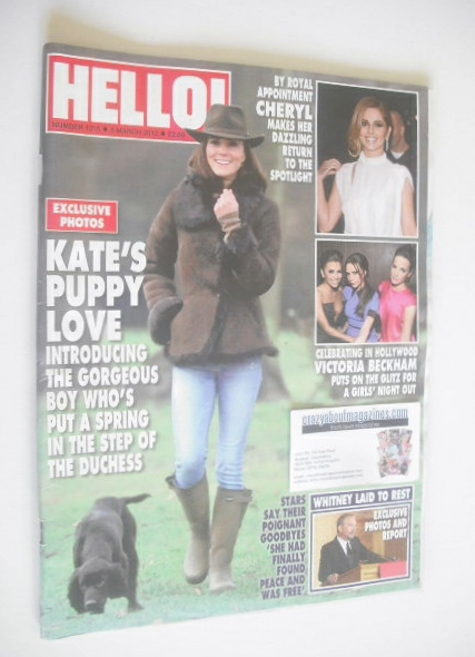 <!--2012-03-05-->Hello! magazine - Kate Middleton cover (5 March 2012 - Iss