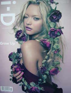 i-D magazine - Gemma Ward cover (September 2007)