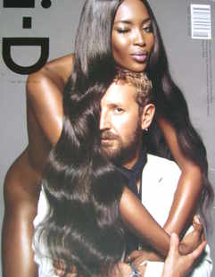 i-D magazine - Naomi Campbell and Stefano Pilati cover (August 2008)