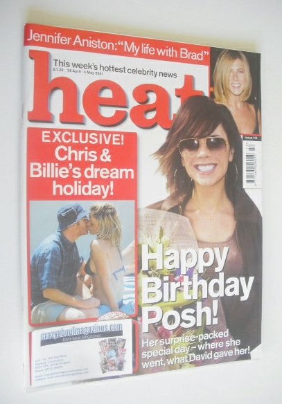 <!--2001-04-28-->Heat magazine - Victoria Beckham cover (28 April - 4 May 2