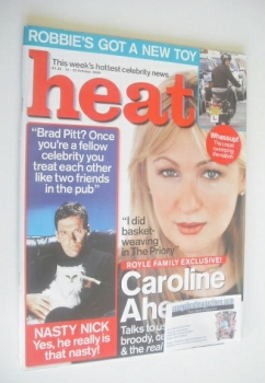 Heat magazine - Caroline Aherne cover (14-20 October 2000)