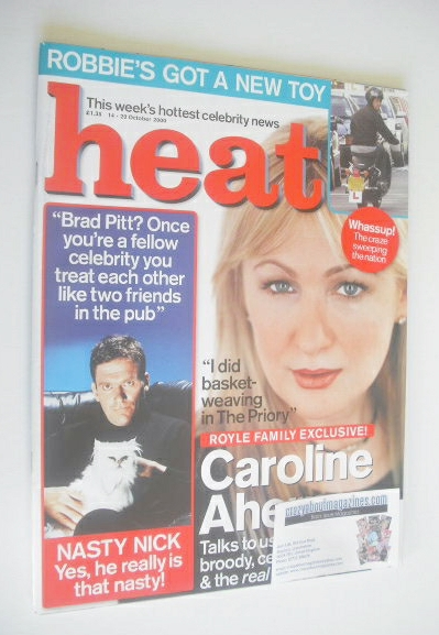<!--2000-10-14-->Heat magazine - Caroline Aherne cover (14-20 October 2000)